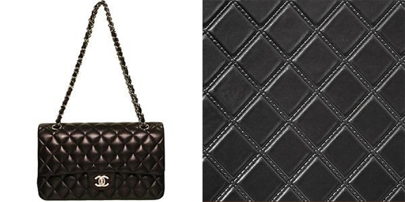 Black Quilted Wallpaper Chanel Inspired...