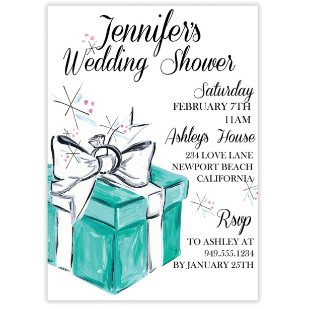 tiffanys invite
